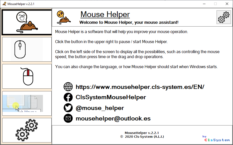 Mouse Helper